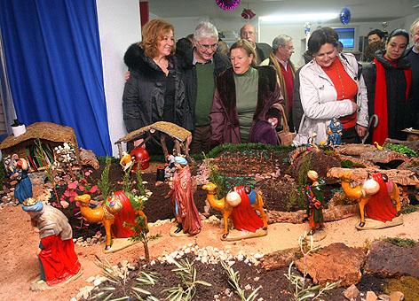 Barreda felicita las fiestas navideñas a los vecinos de La Granja
