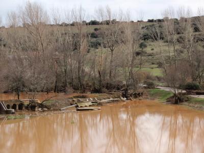 Inundaciones en Calzada de Calatrava