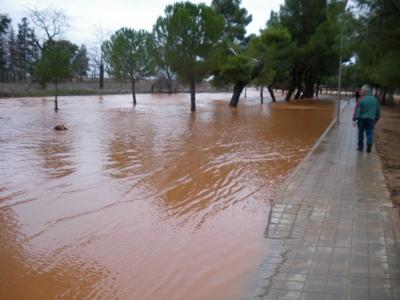 Inundaciones en Manzanares
