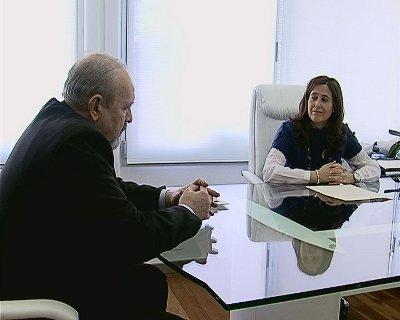 Rosa Romero recibe al Cónsul de Rumanía en Ciudad Real