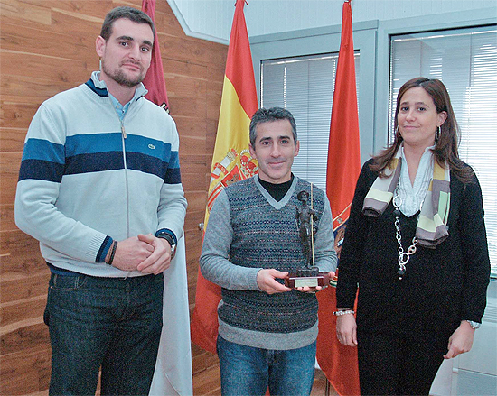 Santi Amores, Rafael Moraleda y Rosa Romero