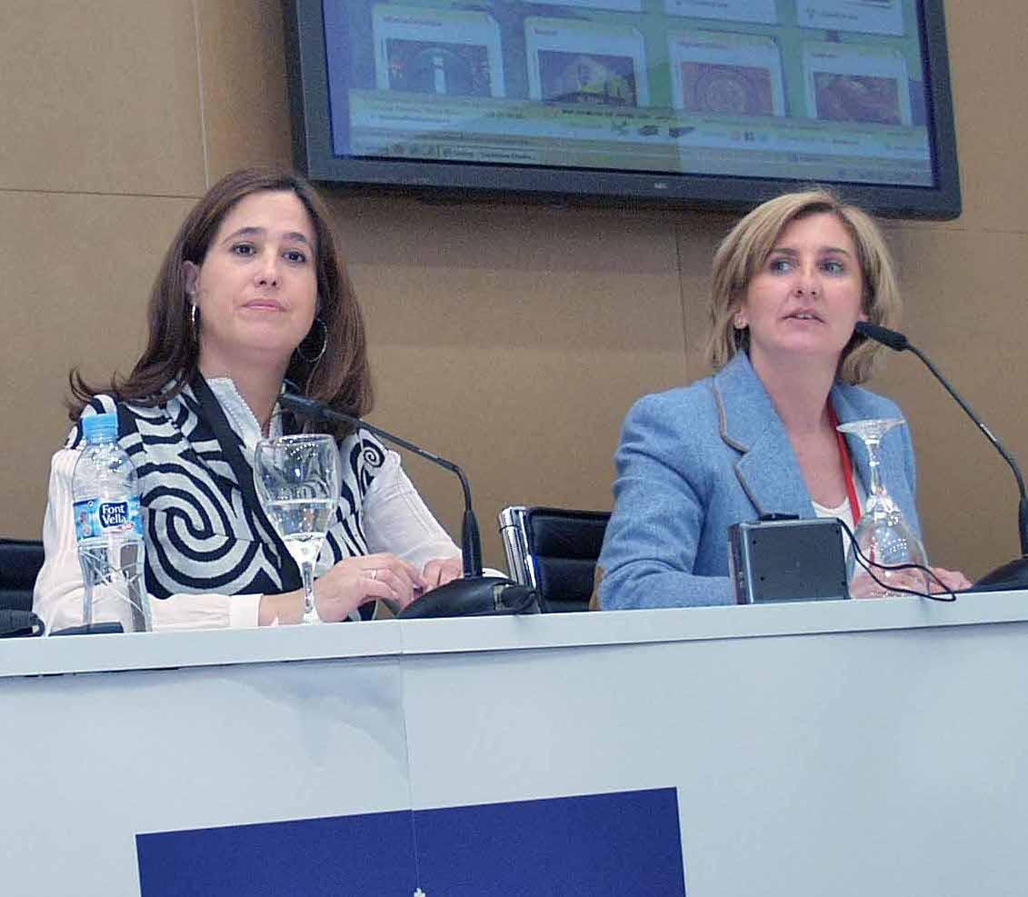 Rosa Romero y Rosario Roncero