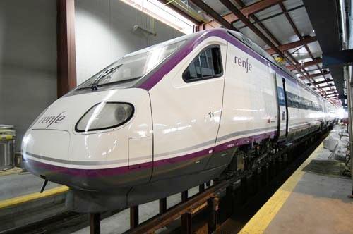 Una de las unidades Avant de la línea Madrid-Puertollano