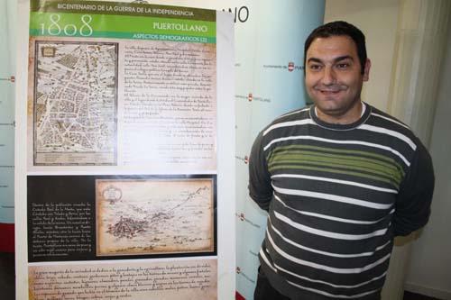 Luis Miguel Ortiz, durante la presentación de las actividades