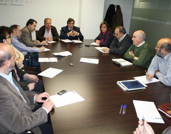 Reunión de los agentes sociales en Puertollano