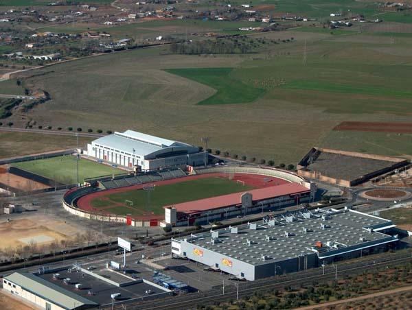 Estadio Sánchez Menor, campo de la UD Puertollano