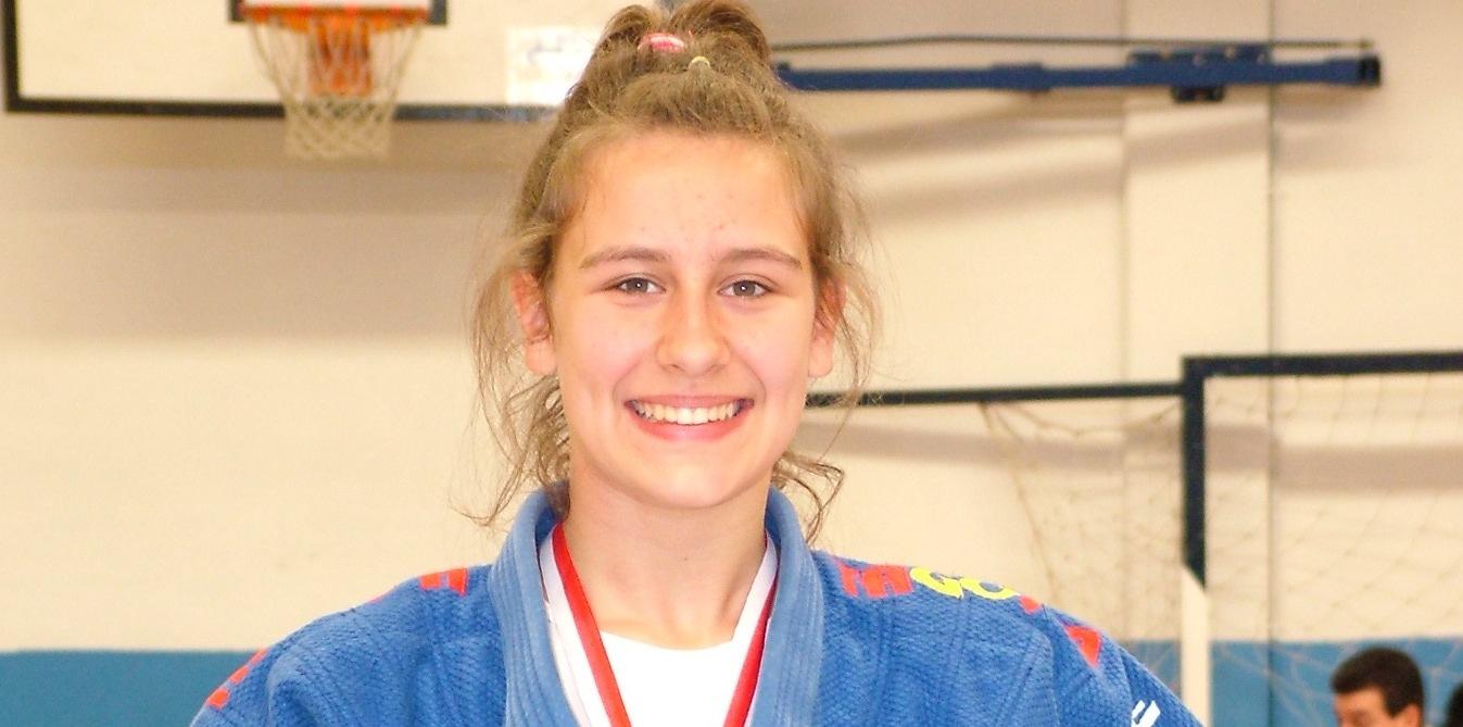 Cristina García de Dios, medalla de bronce en el Campeonato de España de Judo