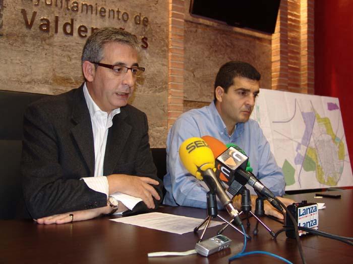 Jesús Martín (izquierda) y Manuel Martínez