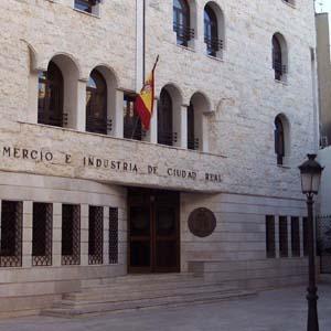 Fachada de la Cámara de Comercio de Ciudad Real