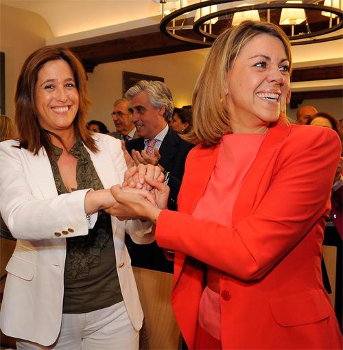 Rosa Romero y María Dolores Cospedal