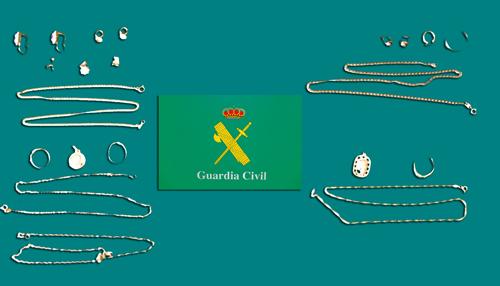 La Guardia Civil detiene a cuatro personas como supuestas autoras de varios hurtos de joyas en domicilio