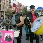 El gran desfile de peñas locales pone el punto y final al Carnaval de Tomelloso
