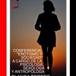 Charla coloquio «Erotismo y Sociedad» con Blanca Torres