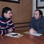 Santiago Amores comienza los contactos como nuevo concejal de Cultura