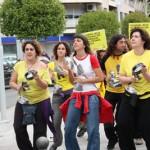 Amnistía Internacional protesta a ritmo de batucada contra la discriminación