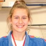 Cristina García de Dios Jiménez, campeona regional de judo