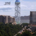 Una empresa tomellosera construye una gigantesca torre en Georgia