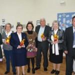Fuente el Fresno homenajea a sus maestros jubilados