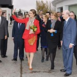 """La Infanta Elena y la presidenta Cospedal inauguran el nuevo Museo de Arte Contemporáneo de la Cooperativa """"Virgen de las Viñas"""""""