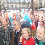 """La Junta califica la huelga de """"rotundo fracaso"""" y los sindicatos critican servicios mínimos «abusivos»"""