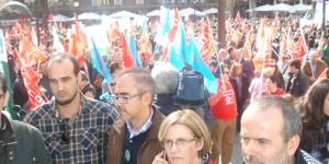 """La Junta califica la huelga de """"rotundo fracaso"""" y los sindicatos critican servicios mínimos"""