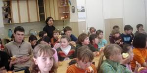 Niños ucranianos