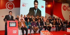 Nueva ejecutiva regional del PSOE