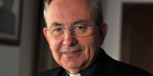 El obispo de Ciudad Real, Antonio Algora