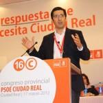 José Manuel Caballero es elegido secretario general del PSOE de Ciudad Real