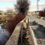 Inquietud en el Ayuntamiento de Arenas San Juan por el estado del puente romano sobre el Cigüela