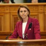 """Cospedal critica al PSOE por """"ir a la cabeza de la pancarta cuando han dejado a la región al borde de la bancarrota"""""""