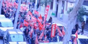 Manifestación 29F en Ciudad Real