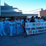 Los trabajadores del Hospital de Ciudad Real aseguran que sus retribuciones han caído un 55% desde 1981