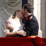 El misterioso beso de los príncipes luxemburgueses