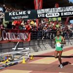 Tewodros Asfaw y Gema Arenas se doctoraron en la XVII Maratón Popular de Castilla-La Mancha
