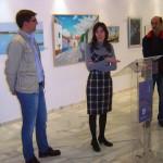 Inaugurada la exposición 'En lugares de La Mancha' de la artista moteña Belén López Jiménez