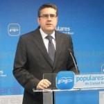 """Rodríguez (PP) pide a Caballero que """"obligue"""" a sus concejales ciudadrealeños a renunciar a los pluses vitalicios"""