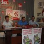 IU denuncia la negativa del Ayuntamiento de Almadén a ceder un local municipal para celebrar un acto informativo sobre el 14-N
