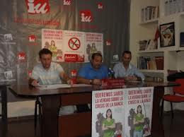 Acto de IU en Almadén