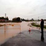 Se normaliza la situación provocada por las lluvias en Calzada de Calatrava (actualización)