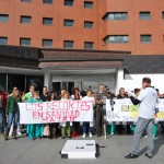 Los profesionales sanitarios protagonizan el octavo martes consecutivo de protestas contra los recortes