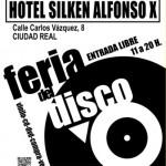 Feria del disco este domingo en Ciudad Real