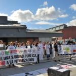 Los profesionales sanitarios piden el mantenimiento del empleo público