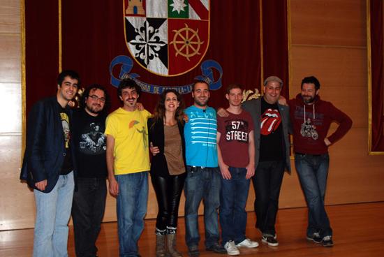 El alumno de Informática Sergio González, vencedor del X Certamen de Monólogos