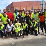 "Daimiel: La ruta cicloturista ""Pedalea por Daniel"" recauda 1.600 euros"
