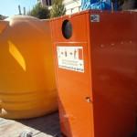 Herencia cuenta ya con los nuevos contenedores para la recogida de aceite usado domiciliario
