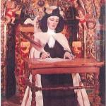 Comienza la restauración de la imagen de Santa Teresa «Sentada» en Malagón