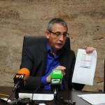 """El alcalde de Valdepeñas presenta los Presupuestos de 2013: """"ya no nos podemos ajustar más"""""""