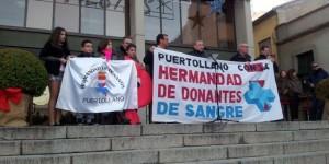 Manifestación de Donantes celebrada en diciembre en Puertollano