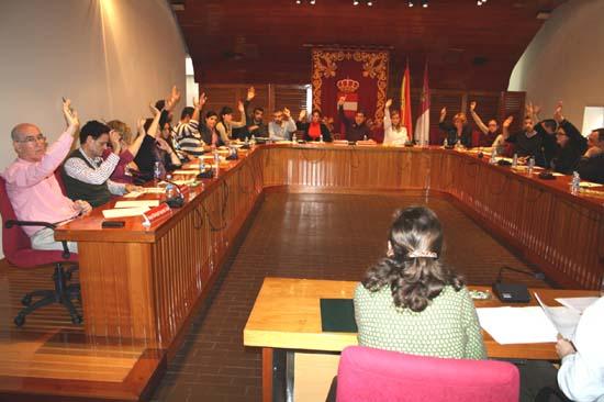 Un Pleno del Ayuntamiento de Puertollano